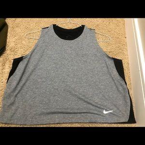 Nike Training Loose Breathe Tank In Black